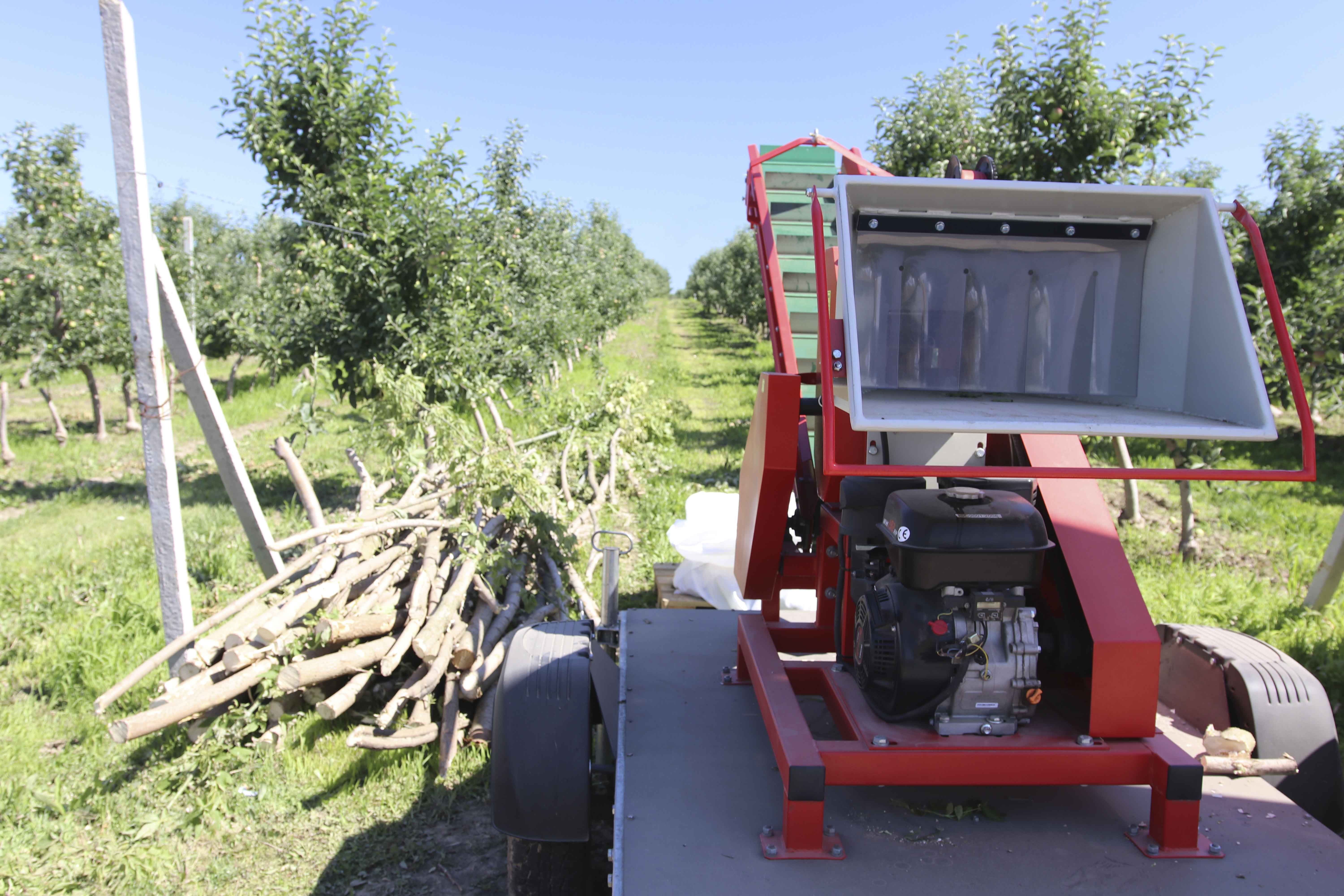 wood chippers, Wood shredders Arpal