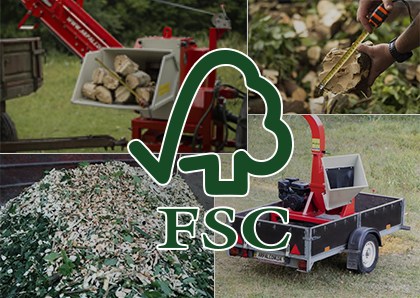 ARPAL branch shredders contribute to FSC certification
