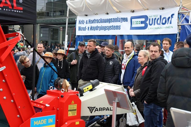Измельчители веток ARPAL на виставці AGRITECHNICA